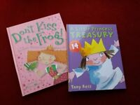 CHILDRENS 1ST READER, BOOK SELECTION J, PRINCESS STORYS, LIKE NEW, VGC 2 ITEMS.