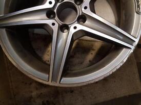 "Original Mercedes 18"" inch alloy wheel"
