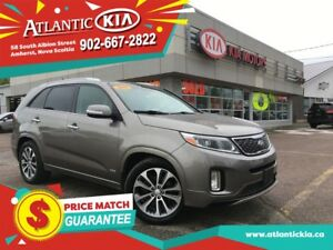 2015 Kia Sorento SX Loaded with Luxury, Leather, Panoramic Roof,
