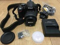 Nikon D3200 in Excellent Condition (Hardly Used) for 330