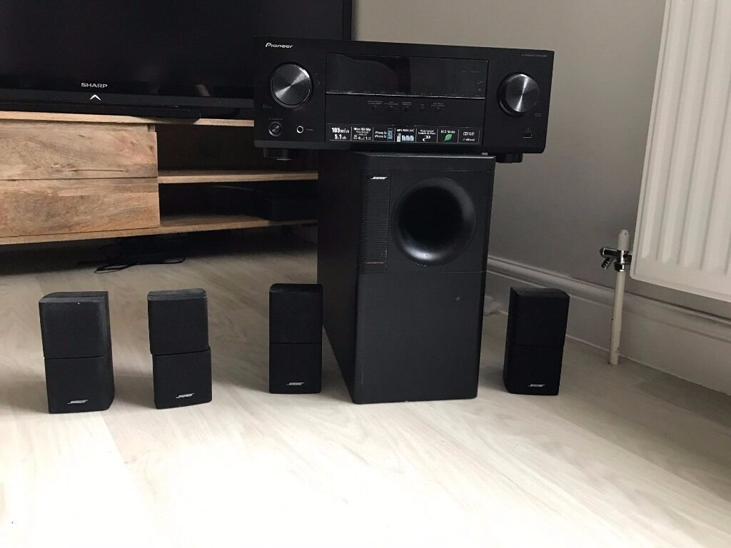 Bose acoustimass 15 with a pioneer vsx 329 amplifierin Guildford, SurreyGumtree - Fantastic condition. Amazing sound quality Bargain Price Will accept near offers Thanks for looking!