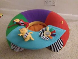 Baby colourful comfy inflatable seat