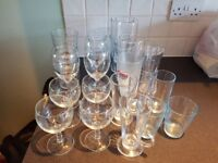 Free selection of glasses