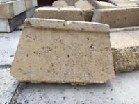 Concrete edging blocks