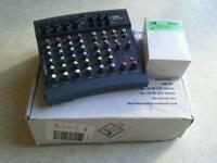 Soundcraft folio mixer / mixing desk