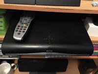 Sky HD Box with Power Cable & Remote control