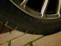 "4x 17"" rims fitted with Nanking winter tyres. Suit Skoda Octavia 4x4 Elegance. 64 Reg."