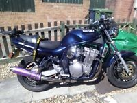BANDIT 600 ON A T PLATE 1999, MOT JULY 2018, RUNS GREAT WITH GREAT SOUNDING EXHAUST CAN.RIDE AWAY