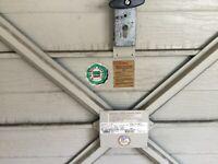 Garage door - up and over