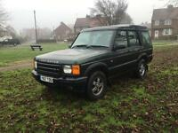 2001 Land Rover discovery td5 7 seater