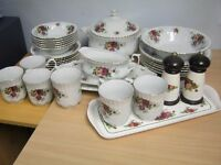 Dinner service - Chodziez Sweet Roses - plates, dishes, mugs