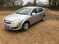 08/08 Vauxhall Astra, 1.4 Breeze, 5dr silver, Feb 18 MOT!!