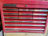 Clarke HD Tool Chest in red ** For Sale ** Great condition** 12 Drawer **