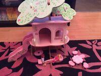 Elc rosebud tree house treehouse
