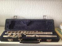 Lucette Silver Flute with Case