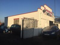 Car garage and car lot business for sale