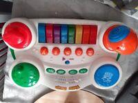 Toy piano mixer