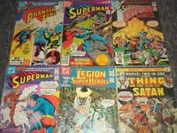 20 Assorted Vintage Superhero Comics