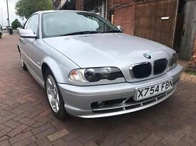 2000 BMW 318i COUPE - 79000 miles - HISTORY - excellent condition