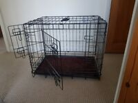 Small dog crate, 2 available