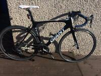Giant TCR carbon road bike