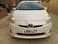 TOYOTA PRIUS HYBRID, 2012, FULLY AUTOMATIC, 1 OWNER FROM NEW, 1 YEAR M.O.T, LADY OWNER