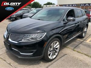 2018 Lincoln MKX LINCOLN DEMO! 0% LEASE OR 0.9% FINANCE!