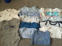 Baby Clothes (Grows and Vests) 3-6 months