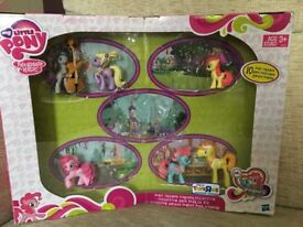 NEW - MY LITTLE PONY – 6 new toy figures - from USA - still in box