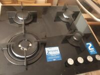Beko Black Gas Hob New and Unused
