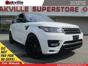 2016 Land Rover Range Rover Sport AUTOBIOGRAPHY |ACCIDENT FREE|L