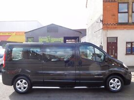 WOW 2014 Renault Trafic 2.0CDi 9 seat factory fitted minibus LWB sportive full service history (25)