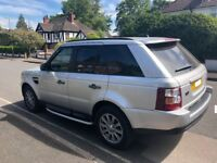 Range Rover Sport silver 2.7 diesel automatic