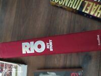 Sportsmen biographies and memorabilia man utd books