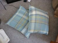 2x Duck Egg Cushions