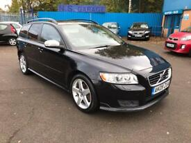 2009 VOLVO V50 2.4D R DESIGN SPORT DIESEL AUTO # RARE CAR # VERY TIDY # HPI CLEAR