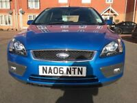 FORD FOCUS ZETEC 1.6LTRS MANUAL PETROL WITH GENUINE MILEAGE OF 67K MOT ENDS 14JANUARY 2019