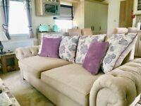 Unused sofa bed & sofa to match