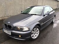 Stunning 2003 03 BMW 318 CI 2.0 Coupe **2 Owners+Only 80000+Full History+Full Leather+Lovely Car!**