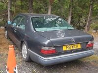 1991 MERCEDES 300 CE AUTO, 2 DOOR COUPE, 3.0 PETROL, BARN FIND PROJECT FOR WINTER EVENINGS :) !!!