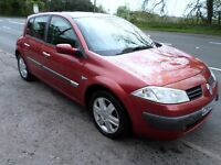 2005 RENAULT MEGANE 1.9 DCI *PERFECT FAMILY CAR* ONLY 71000 MILES 2 X KEYS 6 SPEED GEARBOX NEW MOT