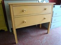 VINTAGE CHEST OF DRAWERS IN ANNIE SLOAN ARLES (sand colour)