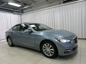 2014 Infiniti Q50 AWD LUXURY SEDAN