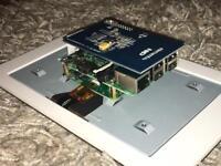 Radberry Pi 3B + Touchscreen + Case + Screen Adapter + 16GB SD Card