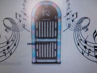 retro jukebox cd player