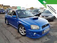 Subaru Impreza 2.0 Turbo WRX 4dr WARRANTY+PRO DRIVE KIT+MOT+ 2003 (03 reg), Saloon