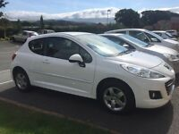 Peugeot 207 millesim 1.4 petrol, one owner from new. MOT until sept 2017 and full service history