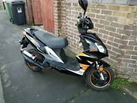 Longia 50cc moped . 12 month mot