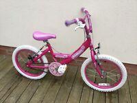 Girls Bumper starlet bike.