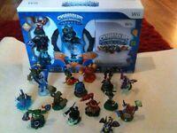 Skylanders - Spyro's Adventure, starter pack + 15 other characters